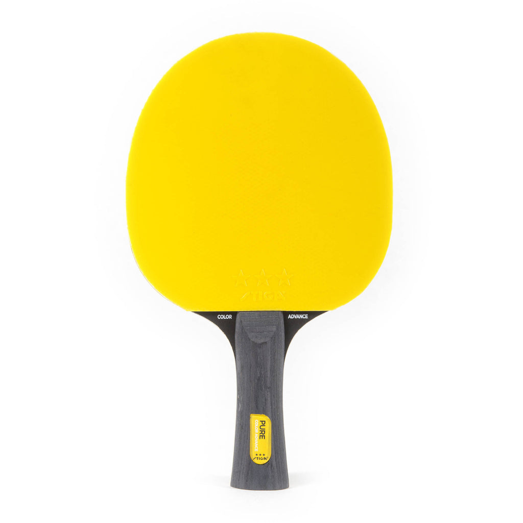 Stiga Pure Color Advance Yellow Table Tennis Racket