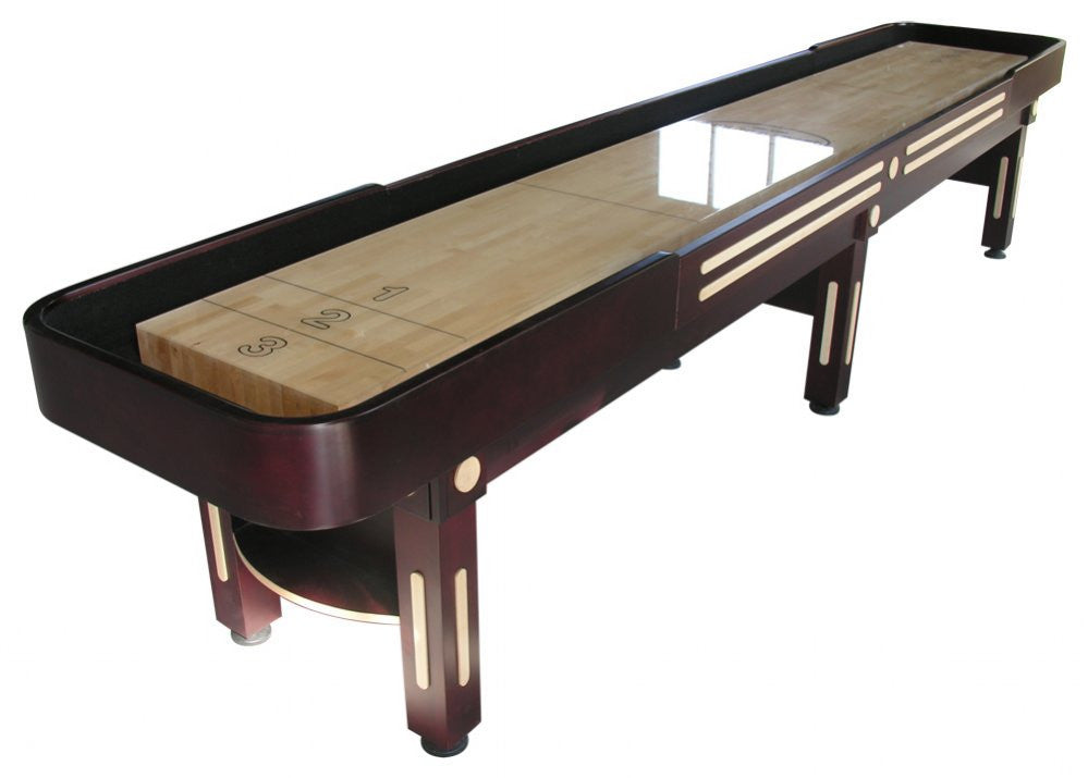 "Berner ""The Majestic"" 14' Shuffleboard Table in Mahogany"