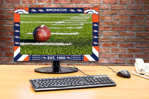 Imperial Denver Broncos Big Game Monitor Frame