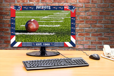 Imperial New England Patriots Big Game Monitor Frame