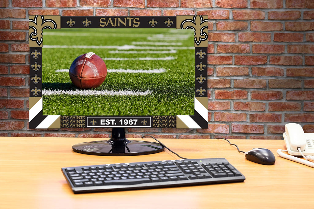 Imperial New Orleans Saints Big Game Monitor Frame