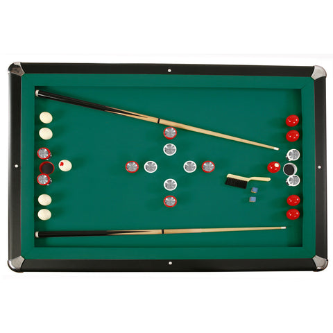 Carmelli Renegade Slate Bumper Pool Table Game World Planet - Carmelli pool table