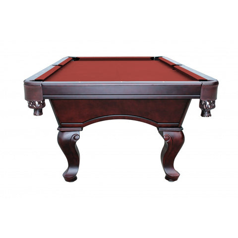 Carmelli Monterey Mahogany Slate Pool Table Game World Planet - Carmelli pool table