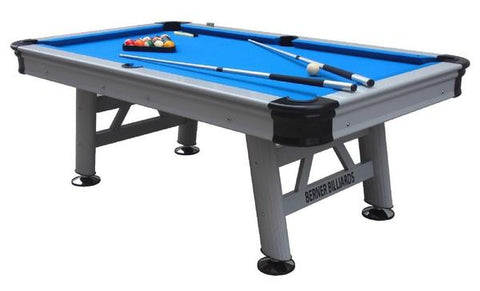"Berner Billiards 8 ft ""Orlando"" Outdoor Pool Table"