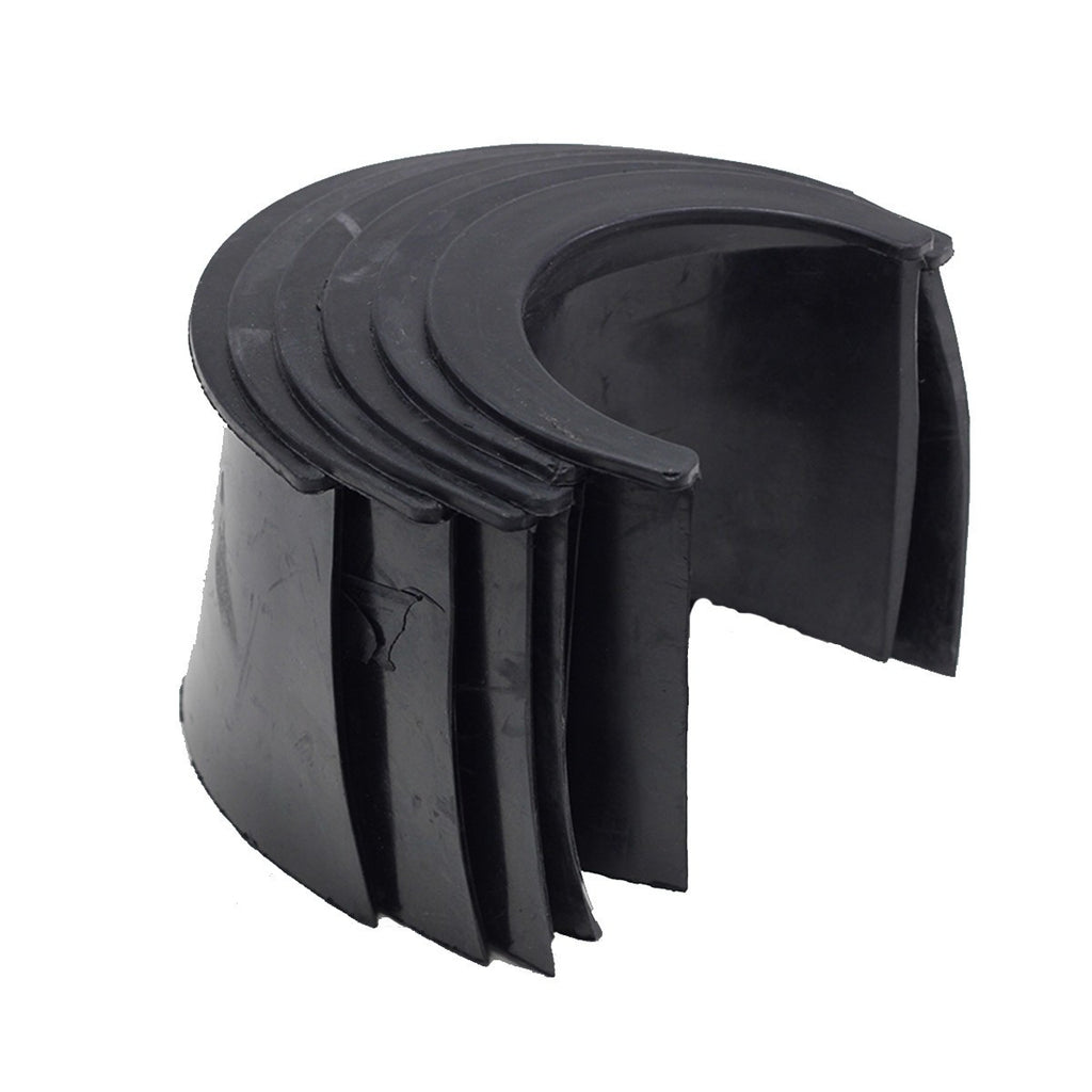 "Imperial 4"" Rubber Pocket Liners Set of 6"