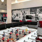 RS Barcelona White RS#2 Iron Foosball Table