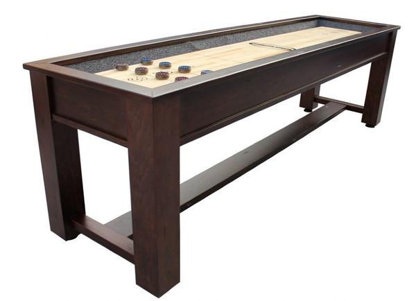 "Berner ""The Rustic"" 9' Premium Shuffleboard Table"