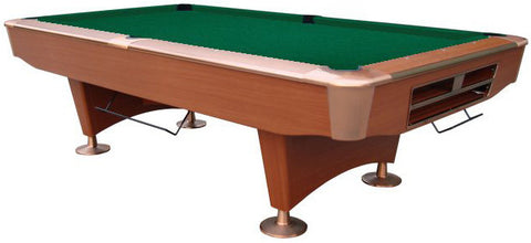 Playcraft Southport Slate Pool Table 8' in Cherry w/ Ball Return