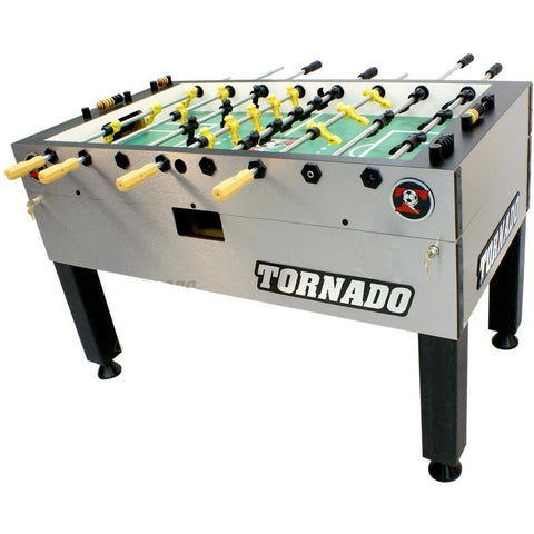 Tornado Tournament T-3000 Foosball Table In Silver