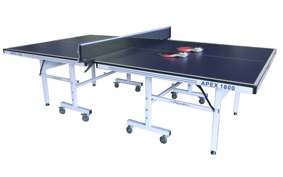 Playcraft Apex 1800 Indoor Tennis Table in White