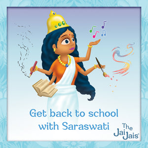 Back To School With Goddess Saraswati