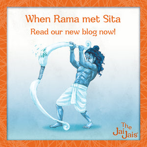 When Rama met Sita.