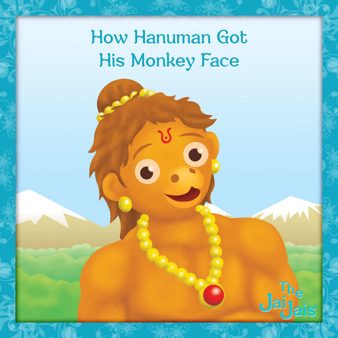 How Hanuman Got his Monkey Face?