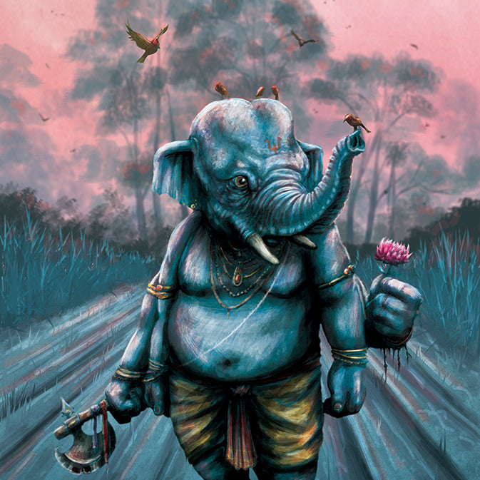 How Did Ganesh Get His Head?