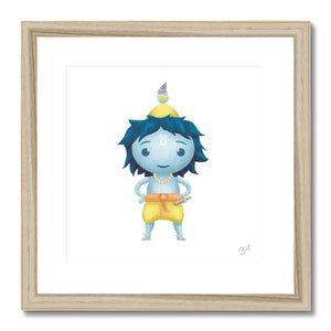 Krishna JaiJai Framed & Mounted Print - The Jai Jais