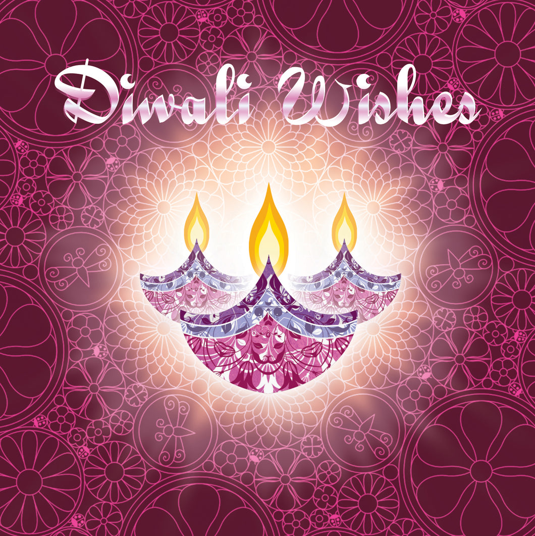 12 Diwali Cards (Mixed Pack)