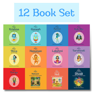 12 Book Collection (including Diwali and Holi) - The Jai Jais
