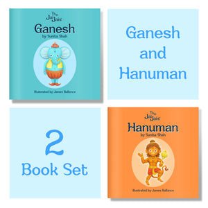 Ganesh and Hanuman 2 Book Set - The Jai Jais