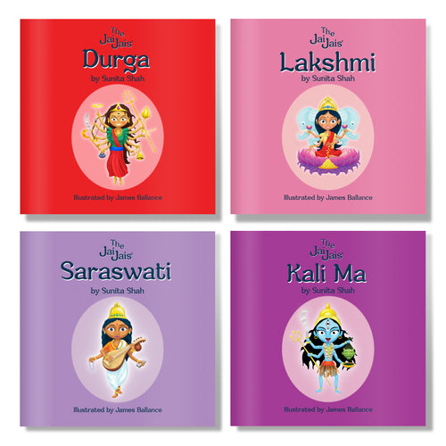 The Goddesses 4 Book Set - The Jai Jais