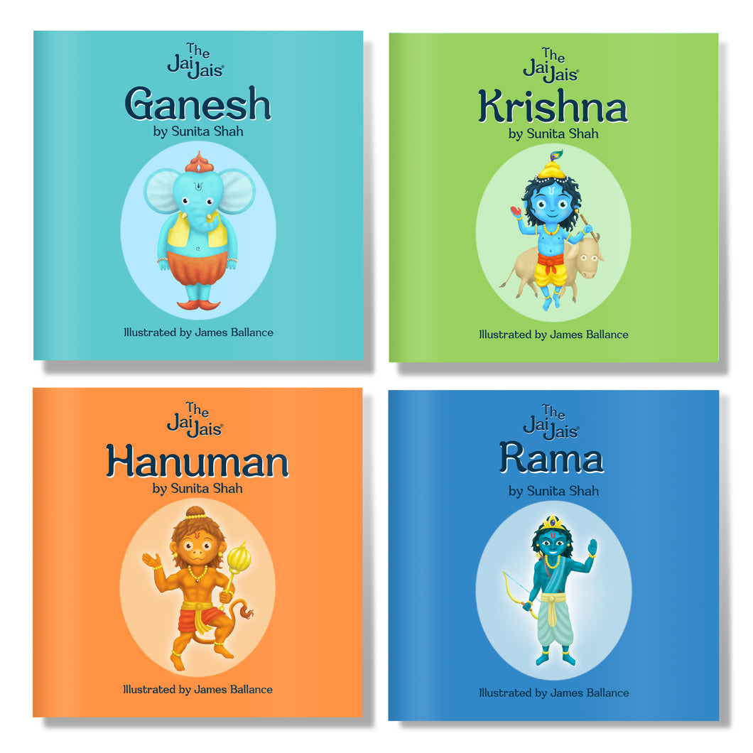 The Jai Jais 4 Book Introductory Set - The Jai Jais