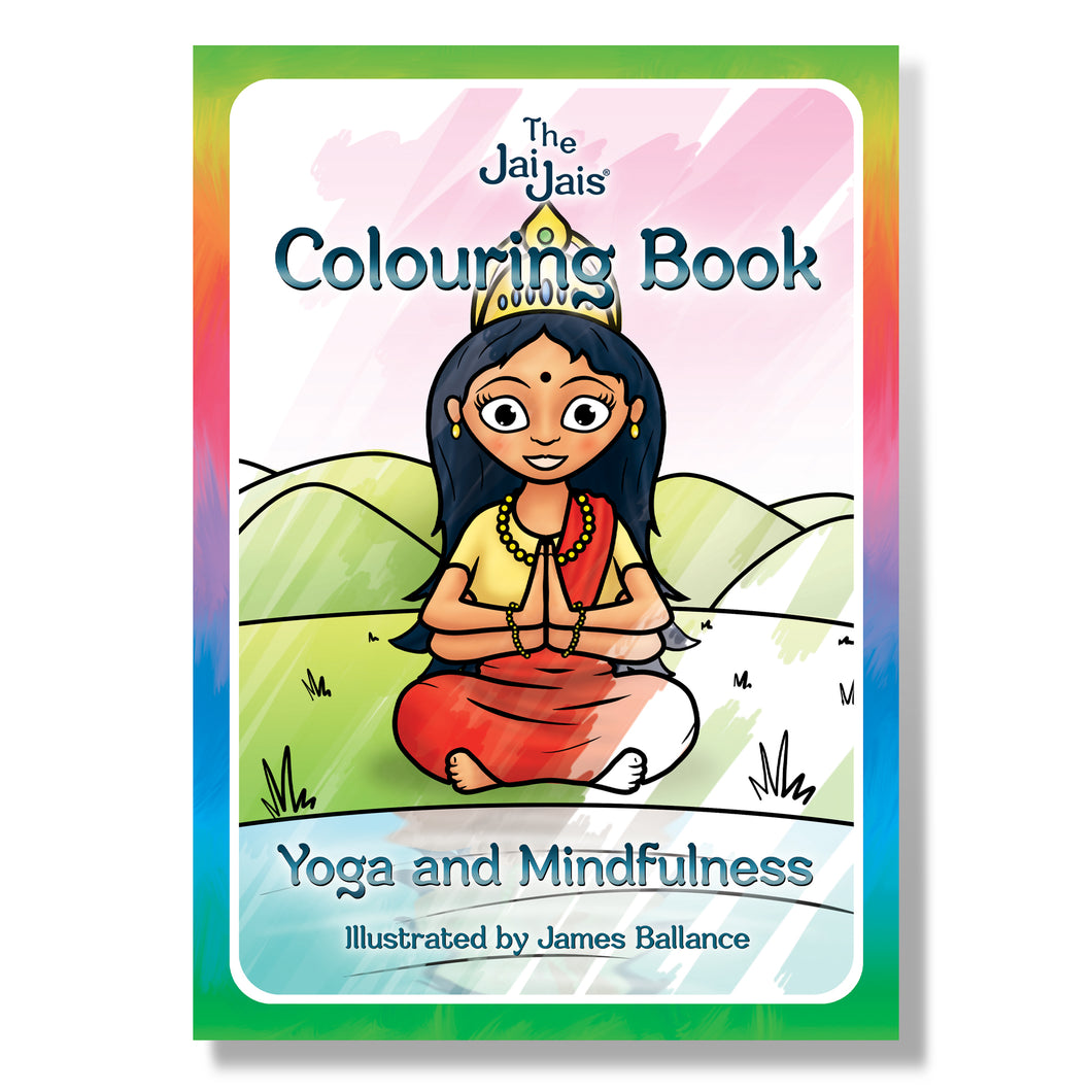The Jai Jais Mindfullness Colouring Book - The Jai Jais