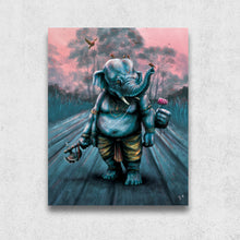 Ganesh at Dawn, Matte Metal Print - The Jai Jais