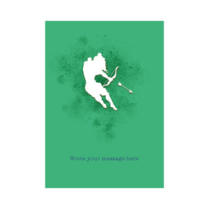 The Jai Jais Silhouettes Personalised Card - Rama's Rule - The Jai Jais