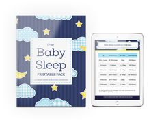 Baby Sleep Printable Pack