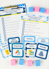 Baby Sleep Checklists PLUS The Sample Routines Bundle