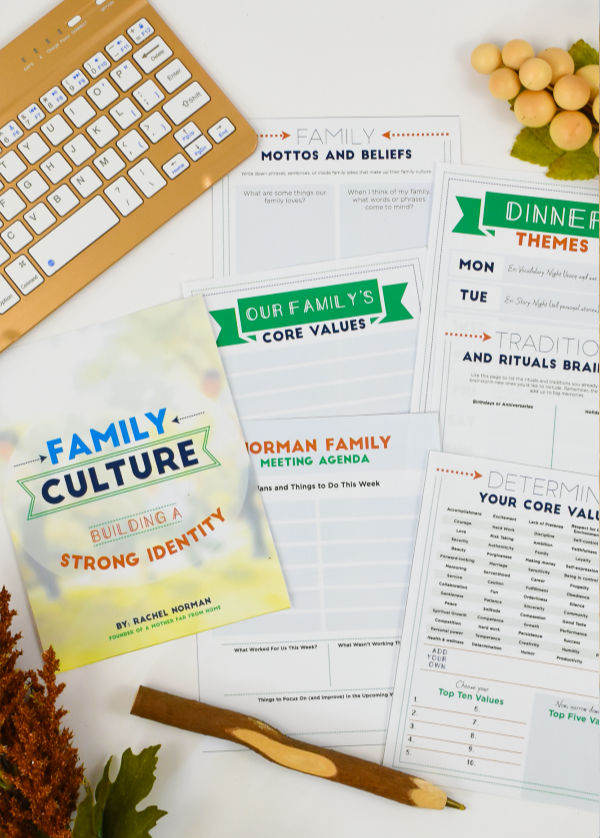 Family Culture Planning Pack