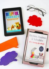 Rhythms, Routines & Schedules eBook & Helpful Phrases eBook (with Printables)