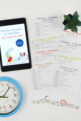 Rhythms, Routines & Schedules Book, Routine Printables & Routine Cards