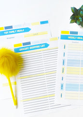 Ultimate Meal Planning & Food Staples Printable Pack