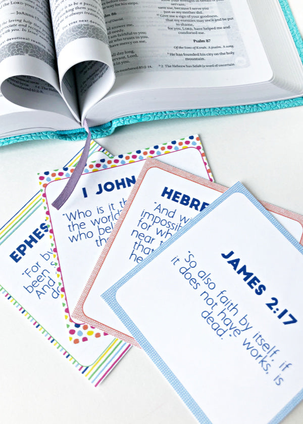 Faith Building Scripture Cards