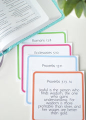 20+ Financial Scripture Cards