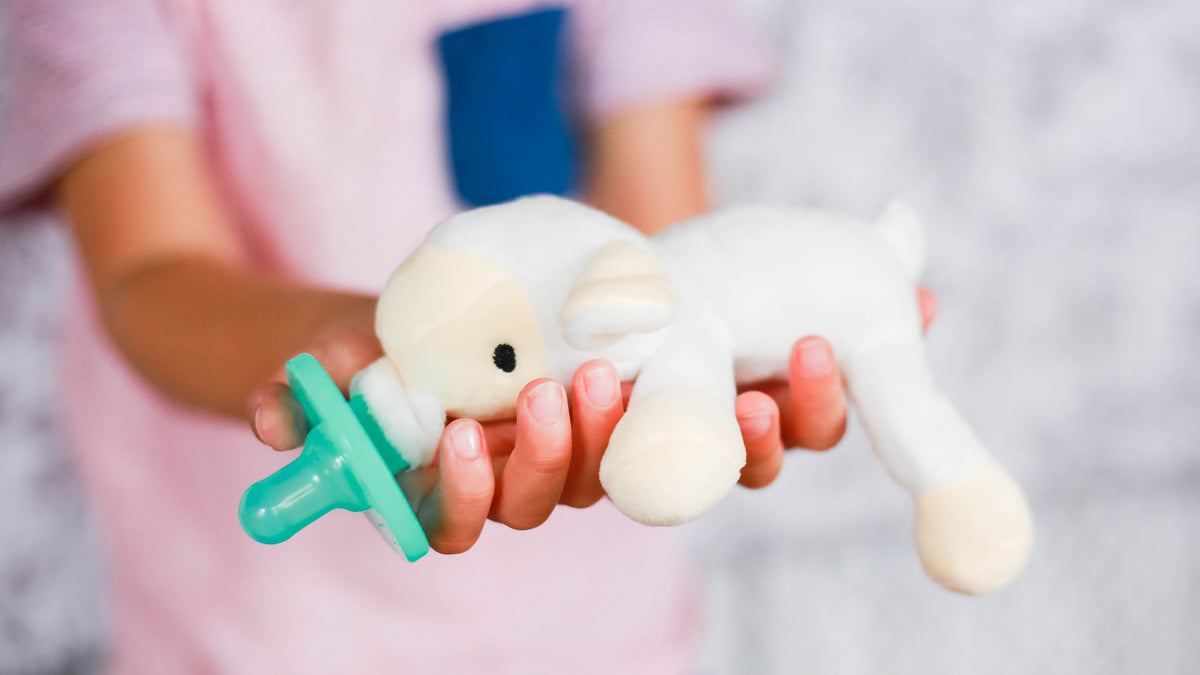 Stuffed Animal Infant Pacifier
