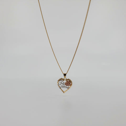 Te Amo, Mi Amor Necklace - ilovesphinx