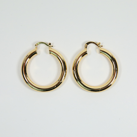 Small Thick Hoops 35mm - ilovesphinx