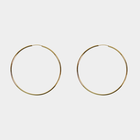 Thin Hoops 70mm