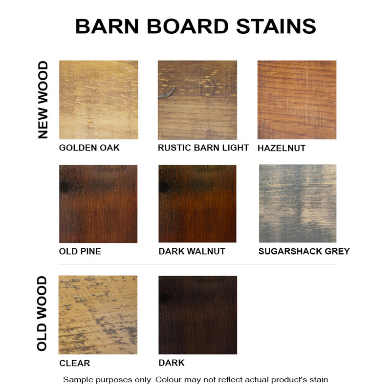 Barn Board Stains