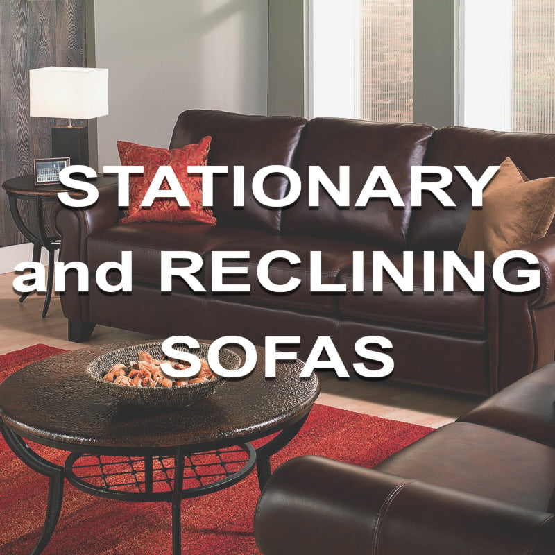 Stationary & Reclining Sofas