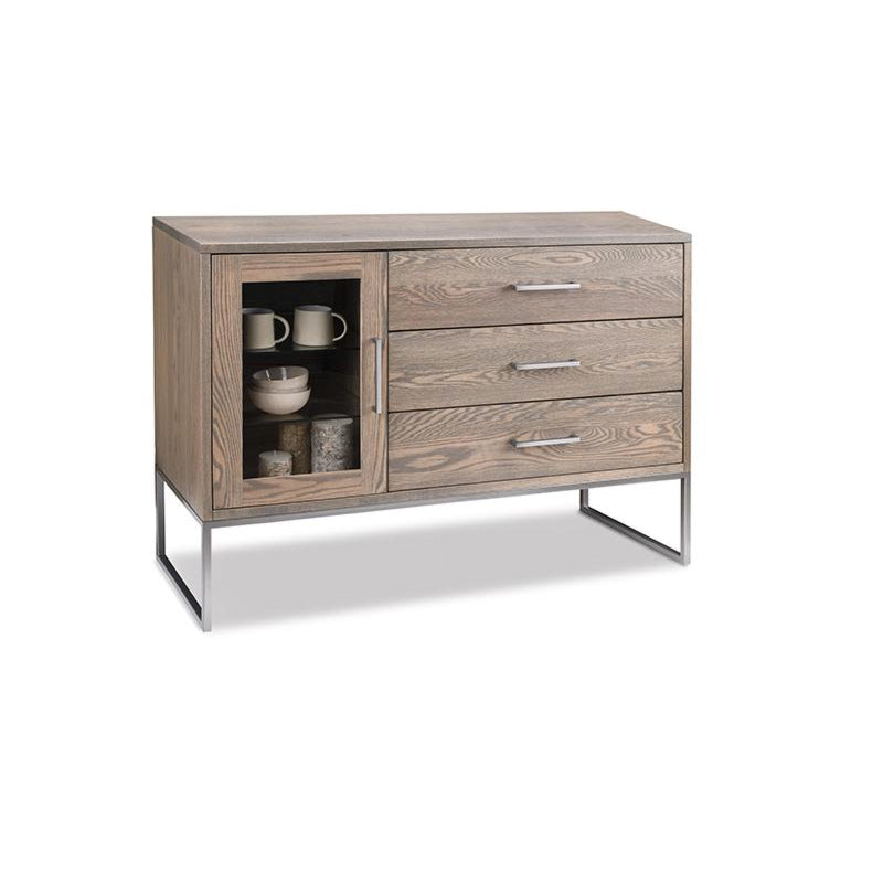 Electra Sideboard with Glass Doors