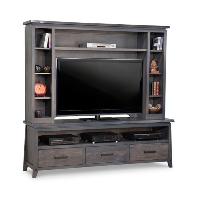 Pemberton HDTV Stand with Hutch