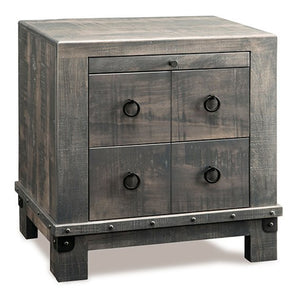 Barrelworks 2 Door Nightstand