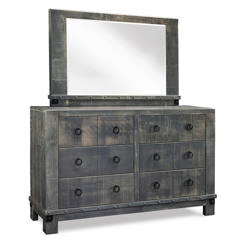 Barrelworks Dresser and Mirror