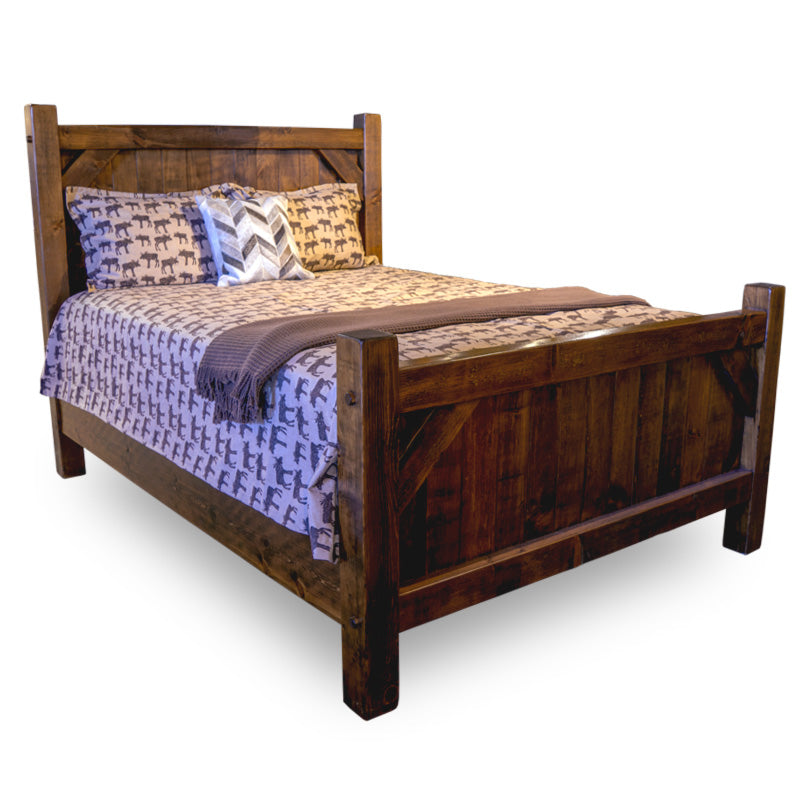 Barn Board Bed (New Wood Only)