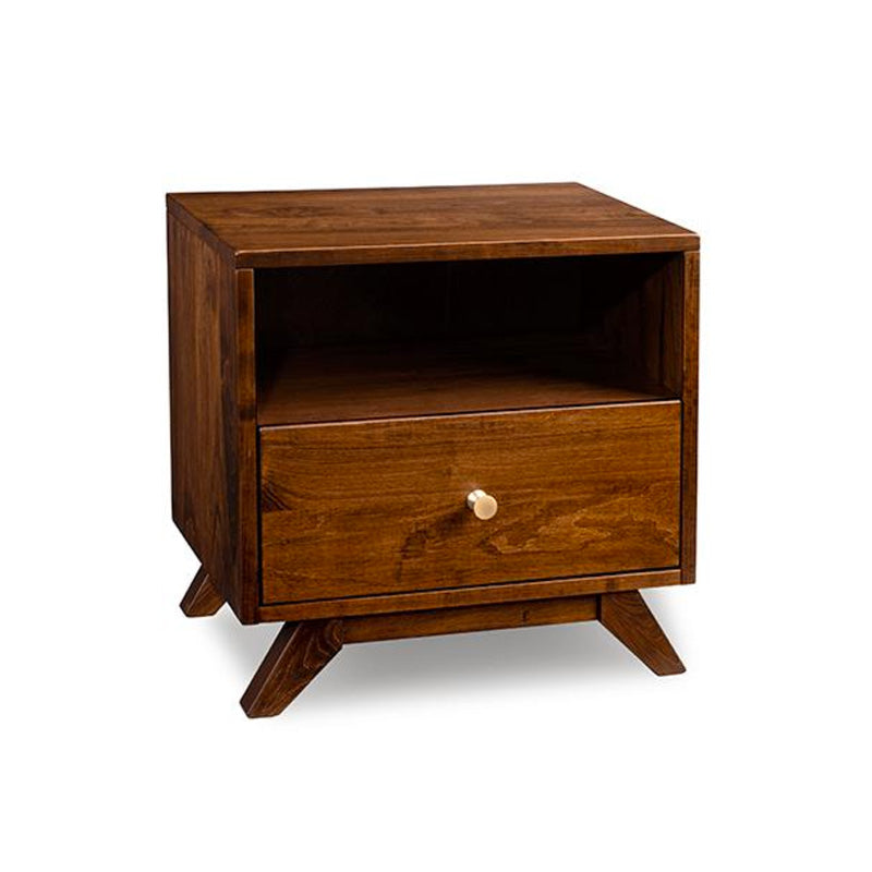 Tribeca Open Nightstand with Drawer