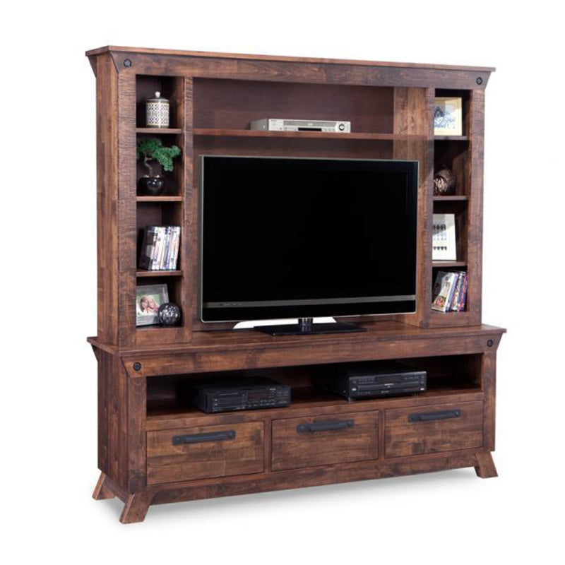 "Algoma 84"" HDTV Stand with Hutch"