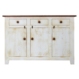 Barn Board 3 Drawer Sideboard