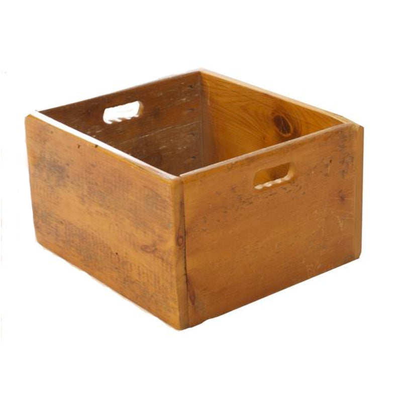 Barn Board Crate